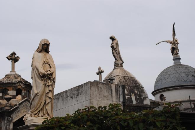Kyrkogården La Recoleta