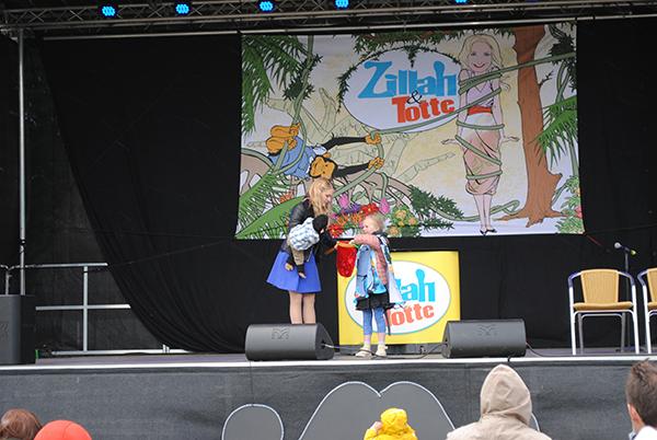 Zillah & Totte på Barnkulturfestivalen