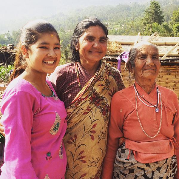 Kamana, 15 år från Nepal