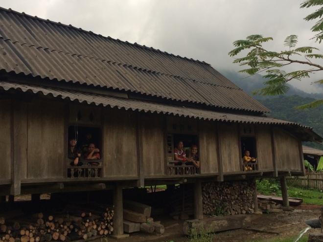 Huset där lån- och spargruppen samlas