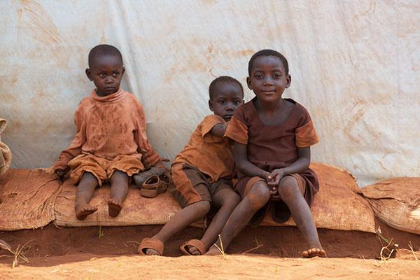 Barn i lägret