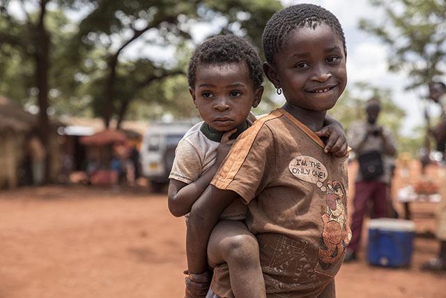 Barn på flykt