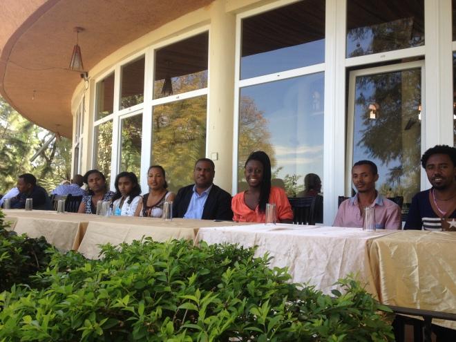 Jag besöker Amhararegionen för att välja ut ungdomar till The National Youth Advisory Committee.