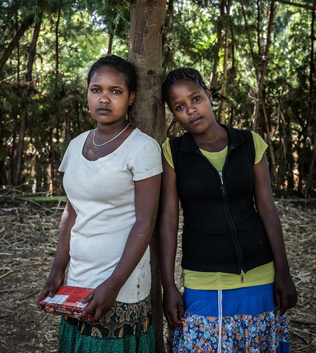 """""""En vän till mig dog på grund av hennes könsstympning. Jag kan inte få henne tillbaka, men vi kan hjälpa de som ännu inte könsstympats """", säger Kidist."""