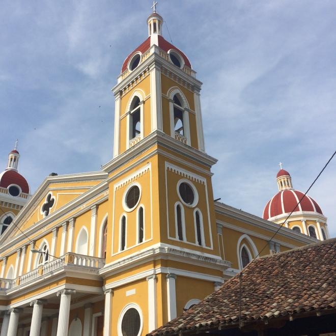 Kyrka i Granada.