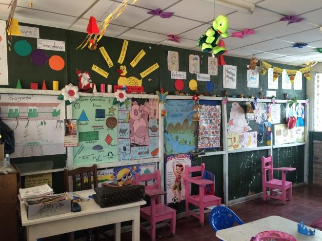 Skolan i Chontales.